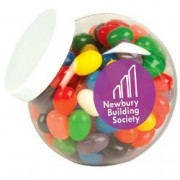LL3149s Corporate Colour Mini Jelly Beans in Clear