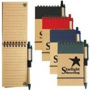 LL8334s Tradie Cardboard Notebook With Pen